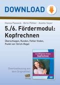 Mathematik, Zahlen & Operationen, Grundrechenarten, Kopfrechnen, Punkt vor Strichrechnung, Addition, Subtraktion, Multiplikation