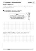 Mathematik, Zahlen & Operationen, Grundrechenarten, schriftliches Rechnen, Multiplikation