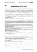 Deutsch, Literatur, Fiktionale Texte, Literaturgeschichte, Umgang mit fiktionalen Texten, Autoren, Epik, Analyse fiktionaler Texte, Gattungen, Wolfgang Borchert, Kurzgeschichte, Trümmerliteratur, kurzgeschichten, interpretation