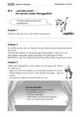 Deutsch, Literatur, Themenfelder, Fiktionale Texte, Umgang mit fiktionalen Texten, Auf dem Land, Lyrik, Analyse fiktionaler Texte, Gattungen, Gedichtvortrag, Klanggedichte