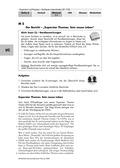 Deutsch, Literatur, Lesen, Schreiben, Sprache, Non-Fiktionale Texte, Leseverstehen und Lesestrategien, Schreibprozesse initiieren, Sprachbewusstsein, Textsorten, Sachtexte