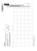 Mathematik, Geometrie, Größen & Messen, Raum & Form, Satz des Pythagoras, Höhenbestimmung, Kathetensatz, konstruieren