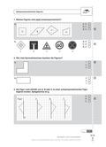 Mathematik, funktionaler Zusammenhang, Raum & Form, Geometrie, Achsensymmetrie, Verschiebung, spiegelung, diagnose