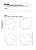 Mathematik, Geometrie, Dreieck, geometrische Figuren, Mittelsenkrechte, konstruieren, geobrett
