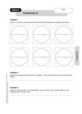Mathematik, Geometrie, Satz des Thales, Thaleskreis, Dreieck, geometrische Figuren, geobrett