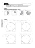 Mathematik, Geometrie, Thaleskreis, Mittelsenkrechte, Dreieck, geometrische Figuren, konstruieren, geobrett