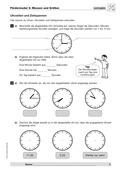 Mathematik, Größen & Messen, Messen, Zeit, Maßeinheiten, Zeiteinheiten, textaufgaben