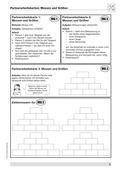Mathematik, Zahlen & Operationen, Größen & Messen, Zahlenmauer, Messen, Maßeinheiten, Größeneinheiten