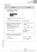 Mathematik, Geometrie, Zahlen & Operationen, Potenzen