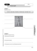Mathematik, Geometrie, Größen & Messen, Raum & Form, Zirkel, Messen, zeichnen