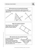 Mathematik, Geometrie, Raum & Form, Gerade, analytische Geometrie