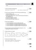 Mathematik, Geometrie, konstruieren, parallelogramm, trapez