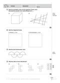 Mathematik, Geometrie, Größen & Messen, Geodreieck, Strecke, würfel, kreis