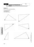 Mathematik, Geometrie, funktionaler Zusammenhang, Trigonometrie, Sinus, Cosinus, Dreieck, geometrische Figuren