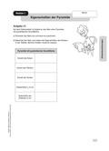 Mathematik, Geometrie, Raum & Form, Körperberechnung, Pyramide, Kugel, Oberfläche, Volumen
