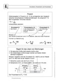 Mathematik, Größen & Messen, funktionaler Zusammenhang, Zahlen & Operationen, Prozentrechnung, Dreisatz, Algebra