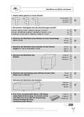 Mathematik, Raum & Form, Flächenberechung, Körperberechnung