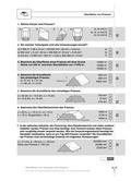 Mathematik, Raum & Form, Körperberechnung, Flächenberechung, Oberfläche