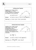 Mathematik, Raum & Form, Geometrie, Flächenberechung, umfangsberechnung