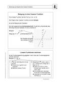 Mathematik, Funktion, funktionaler Zusammenhang, lineare, Steigung