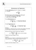 Mathematik_neu, Sekundarstufe I, Raum und Form, Zahl, zinsrechnung, tageszins, monatszins
