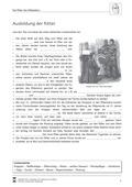 Geschichte, Epochen, Leitprobleme, Mittelalter, Lebenswelten, Ritter im Mittelalter, rätsel, lückentext