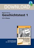 Geschichte_neu, Sekundarstufe I, Vor- und Frühgeschichte, kreuzworträtsel, multiple choice