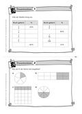Mathematik, Größen & Messen, Zahlen & Operationen, Prozentrechnung, Bruchrechnung, umrechnen