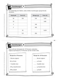 Mathematik, funktionaler Zusammenhang, zuordnen, textaufgaben