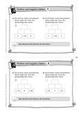 Mathematik, Grundrechenarten, Zahlen & Operationen, Addition, Subtraktion, reelle Zahlen, negative Zahlen, positive Zahlen