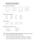 Mathematik, Zahlen & Operationen, wurzeln, Potenzen, Kubikwurzel, Kubikzahlen