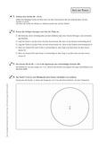 Mathematik, Geometrie, konstruieren, Satz des Thales, Thaleskreis, Dreieck, geometrische Figuren