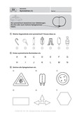 Mathematik, funktionaler Zusammenhang, Raum & Form, Geometrie, Achsensymmetrie