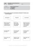 Deutsch, Sprache, Sprachbewusstsein, Grammatik, Satzarten, Ausrufesatz, Fragesatz, Aussagesatz