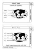Erdkunde, Methodik, Naturbedingungen und -ereignisse, Kartographie & Orientierung, Breitengrade, Atmosphäre und Klima, kartenkompetenz