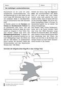 Erdkunde, Länderkunde, Naturbedingungen und -ereignisse, Staaten, Deutschland, Länder, Landschaftsformen und -prozesse, Ökosysteme, Geologie, Landschaftsformen, kartenkompetenz