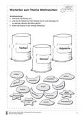 Deutsch, Sprache, Grammatik, Sprachbewusstsein, Wortarten, Nomen und Adjektive, Verben, weihnachten