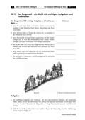 Erdkunde, Länderkunde, Naturbedingungen und -ereignisse, Regionen, Alpen, Umwelt, Landschaftsformen und -prozesse, Geologie, Naturräume, Wald