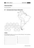 Erdkunde, Länderkunde, Siedlungsräume, Kontinente, Südamerika, Städte, Staaten, Länder
