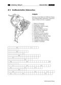Erdkunde, Länderkunde, Naturbedingungen und -ereignisse, Kontinente, Südamerika, Gewässer, Landschaftsformen und -prozesse, Ökosysteme, Geologie, Landschaftsformen