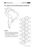 Erdkunde, Länderkunde, Bevölkerung, Kontinente, Südamerika, Demographie, Bevölkerungsverteilung