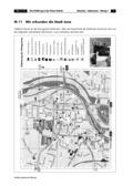 Erdkunde, Verkehr, Länderkunde, Siedlungsräume, Verkehrsweg, Städte, Jena, Anwendung am Raum, Stadtplan