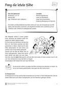 Deutsch, Lesen, Sprache, Didaktik, Schriftspracherwerb, Grammatik, Unterrichtsmethoden, Silben, Wortbildung, Lesekompetenz, Konzentrationsübungen