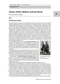 Deutsch_neu, Sekundarstufe II, Primarstufe, Sekundarstufe I, Literatur, Literarische Gattungen, Lyrik, Klassik