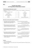 Deutsch, Sprache, Grammatik, Sprachbewusstsein, Wortarten, Konjunktionen, präpositionen
