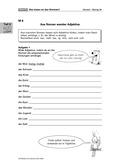 Deutsch, Sprache, Grammatik, Sprachbewusstsein, Wortarten, Adjektive, grammatikregeln