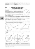 Mathematik, Winkel, Winkelbogen, gradmaß