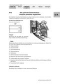 Mathematik, funktionaler Zusammenhang, Extremwertaufgaben