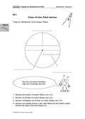 Mathematik, Geometrie, Zirkel, kreis