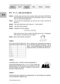 Mathematik, Zahlen & Operationen, Algebra, wurzeln, einstieg